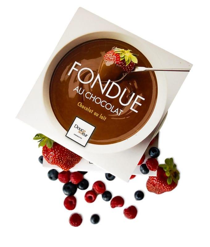 Fondue au chocolat - chocolaterie artisanale