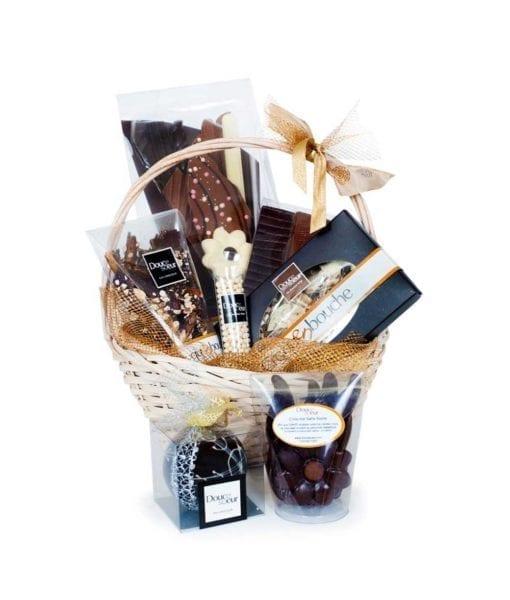 Emballage cadeau chocolat fin - DouceSoeur - Chocolaterie Montréal