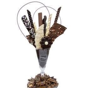 Bouquet de chocolat fin - DouceSoeur - Chocolaterie Montréal