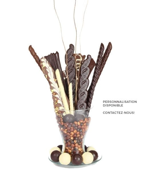 Bouquets de chocolat - DouceSoeur - Chocolaterie Montréal