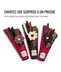 Cadeau original - Bouquet en chocolat