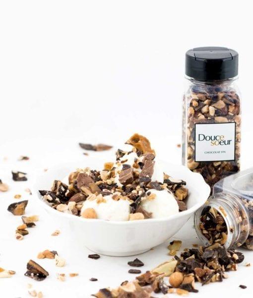 Concassé de Croquenbouche - DouceSoeur - Chocolaterie Montréal Sans sucre