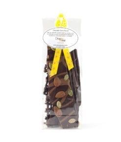 Éclats de chocolats - DouceSoeur - Chocolaterie Montréal Sans sucre