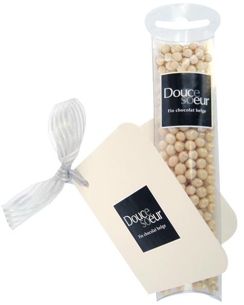 Mini perles chocolatées croquantes