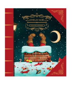 Calendrier de l'avent pour Noël en chocolat