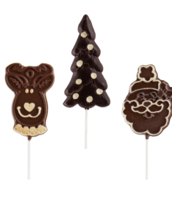 Suçons en chocolat pour Noël