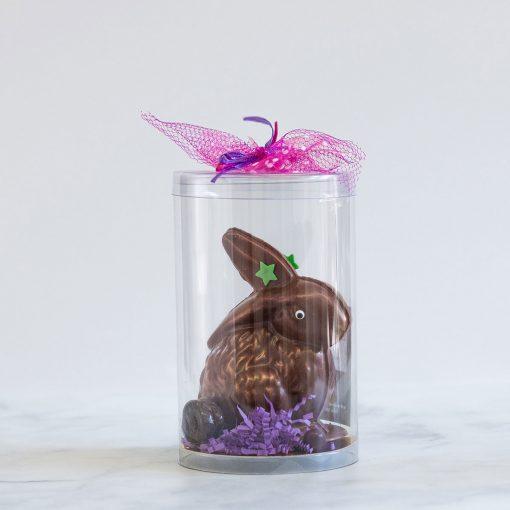 Chocolat pour Pâques en forme de lapin fait dans l'est de Montréal dans Tétreaultville (Mercier-Est).