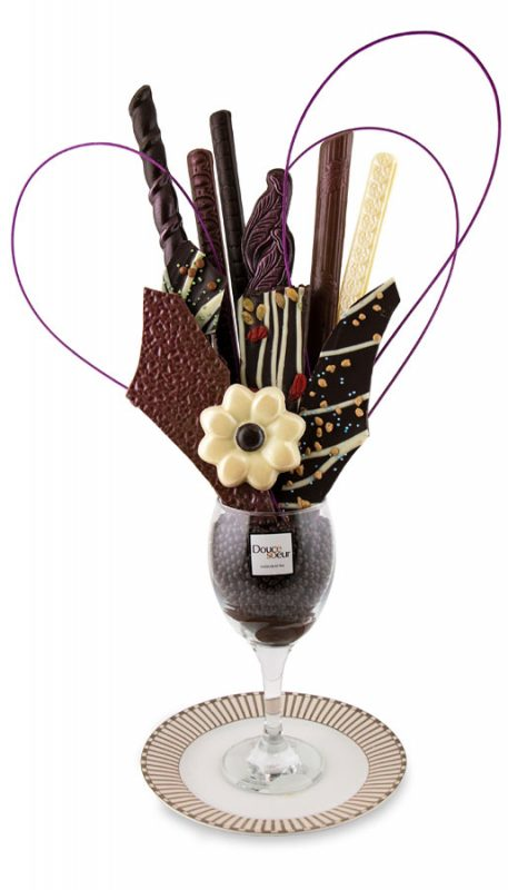 Bouquet en chocolat