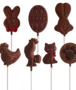 Suçon en chocolat pour Pâques, fabriqué à Montréal