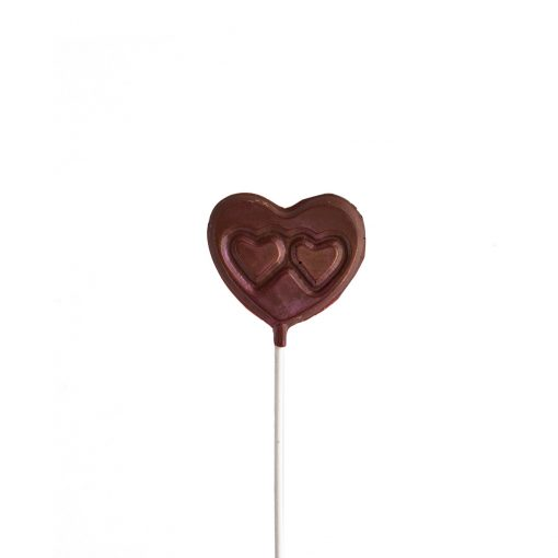 Suçon cœur en chocolat pour la Fête des Mères